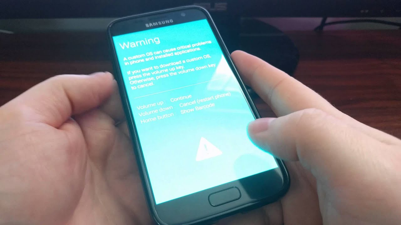 How to Boot the Galaxy S7 into Download Mode