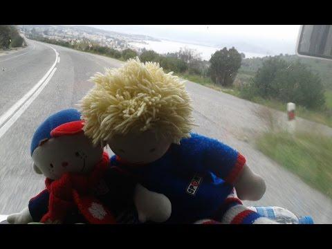 A trip to Pelion: Peter and Iasonas are having fun