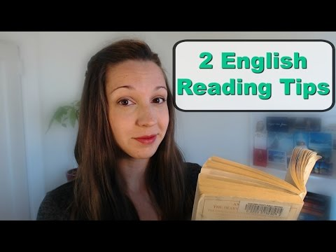 Two Tips For Fluent Reading In English