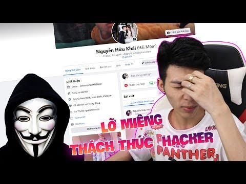 Lỡ miệng thách thức hacker, Hải Mõm bị hack facebook ngay lúc đang live stream