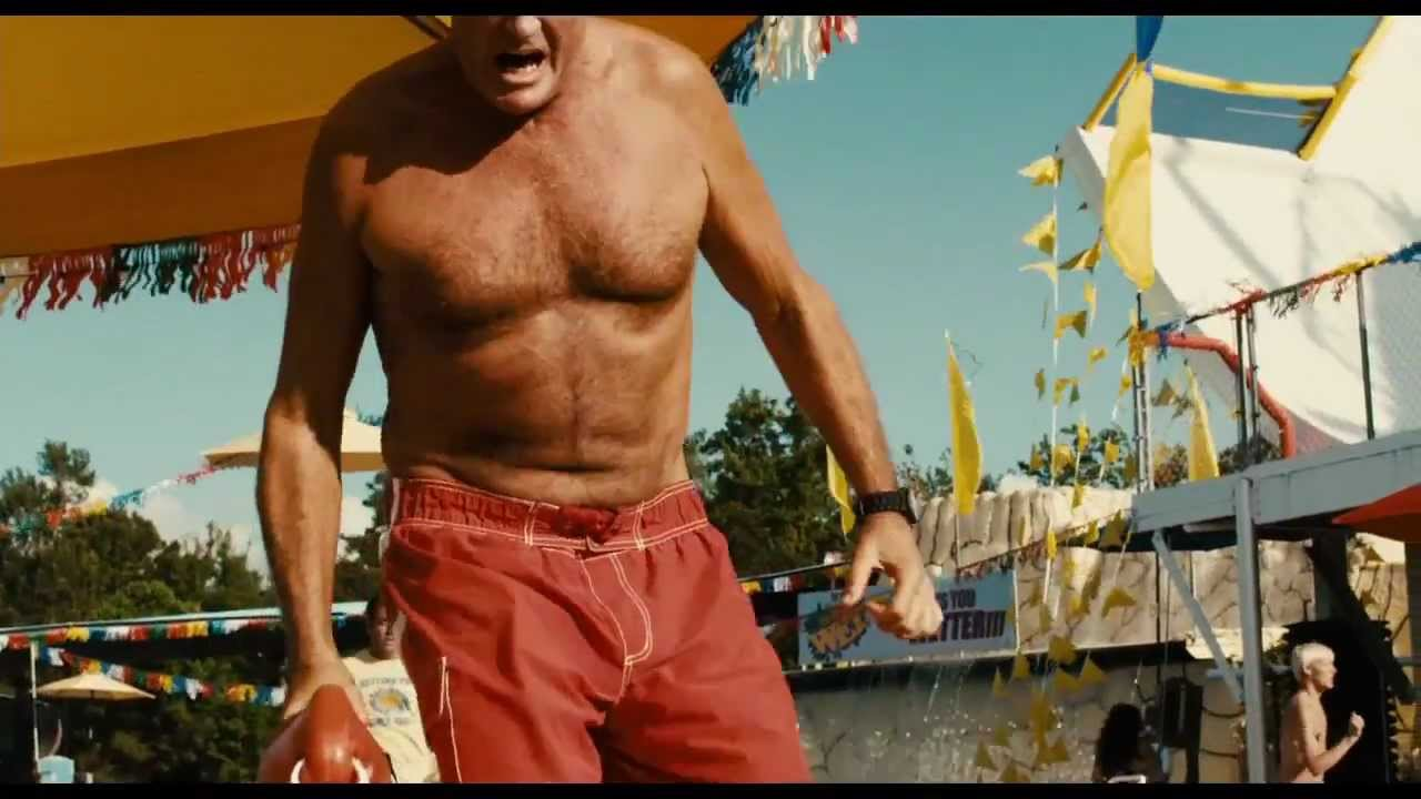PIRANHA 3DD - clip David Hasselhoff 'Rescue' - YouTube