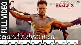 Get Ready To Fight Reloaded /BAAGHI-3. Full 3D song.Pranaay,Siddharth  Basrur. Use headphone