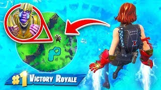 TROLLING THANOS with Iron Man In Fortnite!