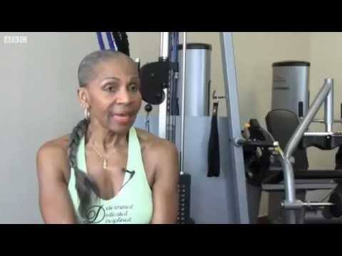 75 year old female body builder | Started bodybuilding at 71!