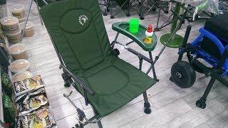 Відеоогляд карпового крісла Электростатик F5R з обвісом