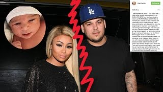 Rob & Chyna SPLIT! Blac Chyna Steals Baby Dream, Leaves Rob Kardashian After Instagram Hack