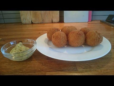 Bitterballen - Recipe Dutch Fried Beef Croquette Balls With Crispy Crust