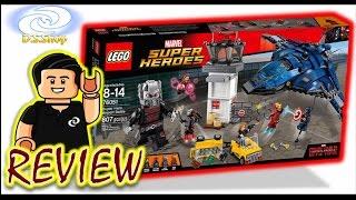 LEGO Super Hero Airport Battle El Juguete Mas SORPRENDENTE Captain America Civil War Review Toys