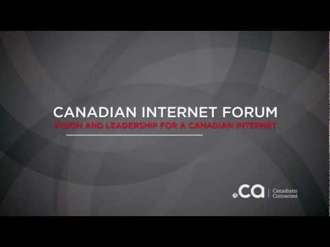 The Canadian Internet Forum: discuss, debate, participate