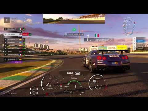 GT Sport - Nations Cup (Race Hard and Fair = Penalty)