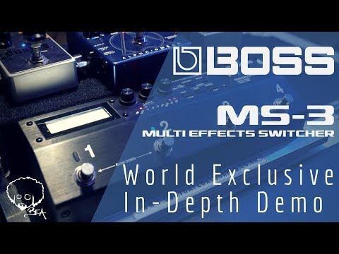 BOSS MS-3 World Exclusive In Depth Demo
