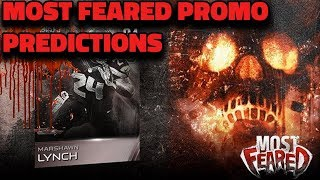 MOST FEARED PROMO PREDICTIONS | MADDEN 19 ULTIMATE TEAM