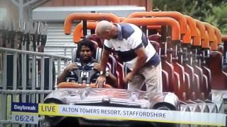 John wardley rides rita at alton towers