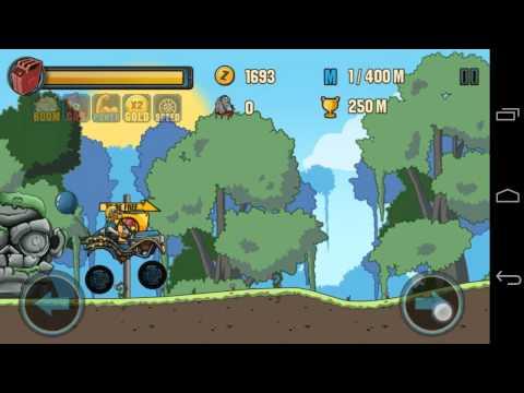 (모바일 게임)좀비 로드 레이싱(Zombie Road Racing) 플레이 영상