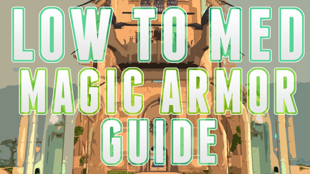 Runescape 3 Low To Medium Magic Armor Guide For Ironman Youtube