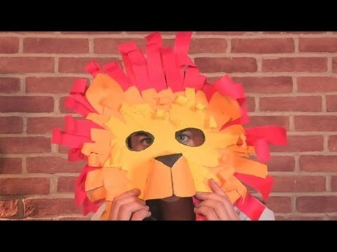 How To Make A Lion Mask : lion mask craft paper plate - pezcame.com