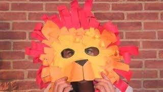 How To Make A Lion Mask