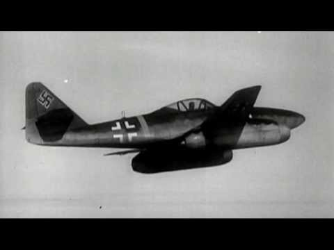 ★Nazi Jets(Me262)shot down by Red Tails(Tuskegee Airmen)★