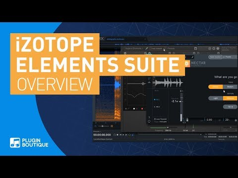 iZotope Elements Suite | RX Ozone Neutron Nectar