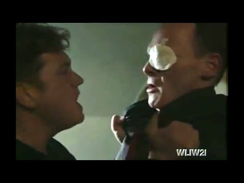 EastEnders - Ricky Butcher Attacks Billy Mitchell (9th August 2002)