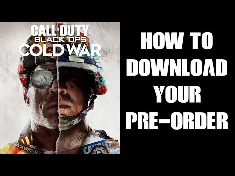 Call of Duty: Black Ops - Cold War preloading is live