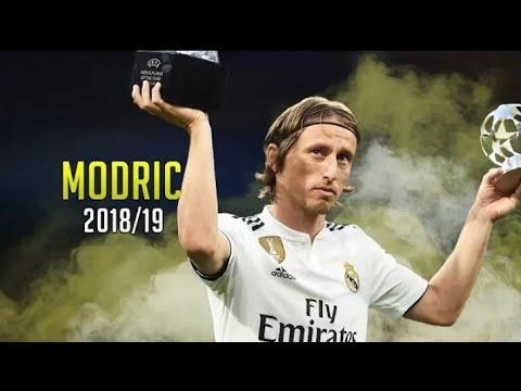 Luka Modric 2018/19 ●🔥 Player of the Year | Skills Show
