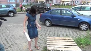 Новая Трехгорка окружена ловушками из открытых колодцев!!!(16 июля 2014г. журналист Одинцовского ТВ Никита Филатов приезжал в