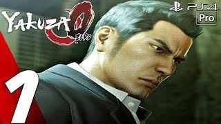 YAKUZA 0 - Gameplay Walkthrough Part 1 - Prologue (Full Game) PS4 PRO