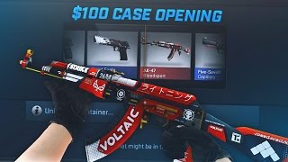 $100 INSANE SPECTRUM CASE OPENING!! (CS:GO CASE OPENING)