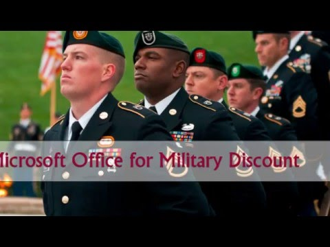 Military only - Microsoft Office Pro Plus for $!!!! Save $ THIS IS A $ SAVINGS. Get Microsoft Office Professional Plus for $ MSRP for this program is $ SHOW YOUR SUPPORT FOR MILITARY DISCOUNTS!! INVITE YOUR FRIENDS and SHARE YOUR MILITARY DISCOUNTS WITH US! CLICK FOLLOW! Powered by Blogger.