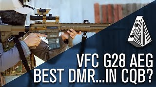 The Best DMR...in CQB? VFC G28 Game Play | Black_Arc Airsoft | Code Red Airsoft Park