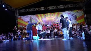 Top Of The Country | Final Bboy 3vs3 | Ukraine team vs Halley team (Vietnamese) 2018