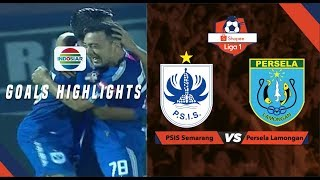 PSIS Semarang (2) vs Persela Lamongan (0) - Goal Highlights | Shopee Liga 1