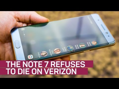 Samsung's Note 7 refuses to die on Verizon