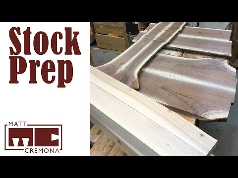 Part Selection and Lumber Prep - JR's Bed Part 2