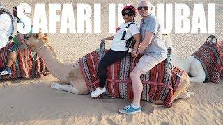 VLOG safari in dubai | DWI ENDAH
