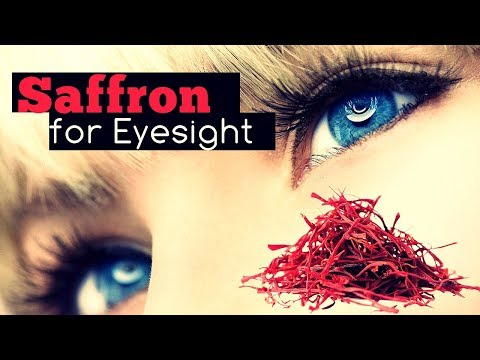 Saffron for Eyesight: Benefits and How to Use