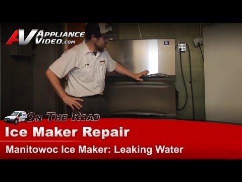 Manitowoc Ice Maker Repair - Leaking Water - BD400