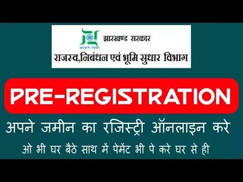 Pre registration for land registry online