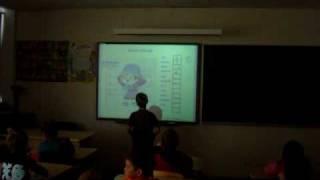 Урок  эстонского языка в первом классе