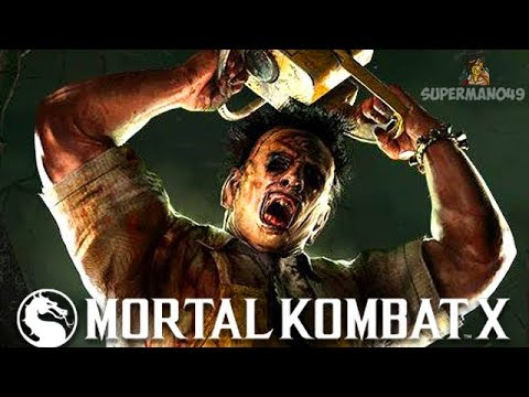 "THE BEST BRUTALITY OF ALL TIME! - Mortal Kombat X: ""Leatherface"" Gameplay 