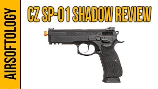 SP-01 Shadow; A Dual Powered Airsoft Pistol - CO2 & Green Gas! | Airsoftology Review