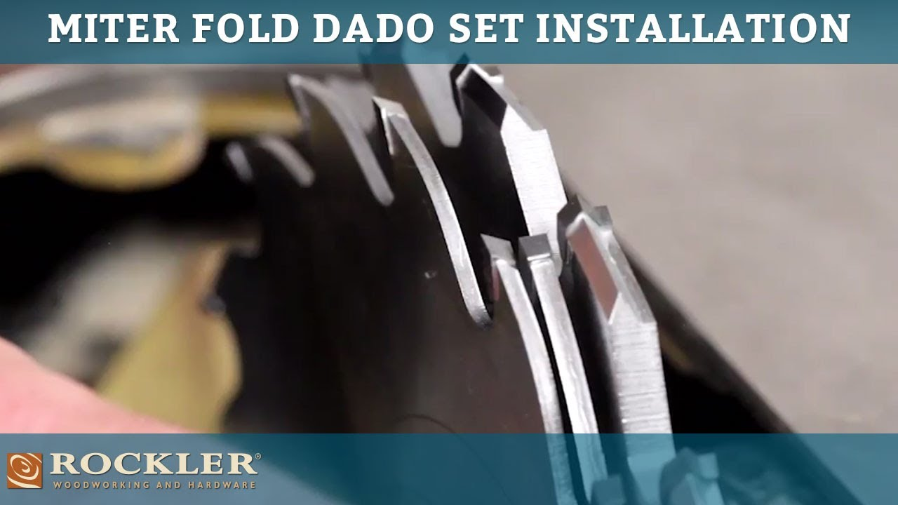 Rockler miter fold dado set installation tips youtube rockler miter fold dado set installation tips keyboard keysfo Image collections