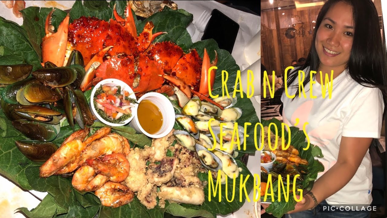 Download CRAB n' Crew   SEAFOOD MUKBANG IN TWO BRANCH WITH MY FAMILY