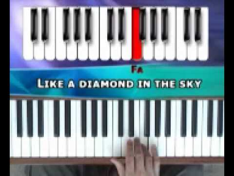 How to play Twinkle Twinkle Little Star on piano by Easy Music School