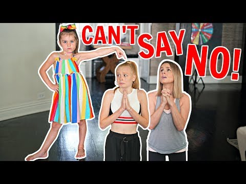 7 YR OLD SISTER CONTROLS OUR DAY! 😈 **Parents can't say NO!**