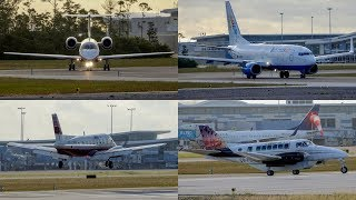 Bahamas | April 8/2019 Planespotting Compilation | Bahamian Morning
