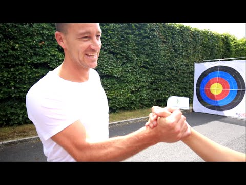 WATCH: John Terry recovers from dreadful start to charity challenge