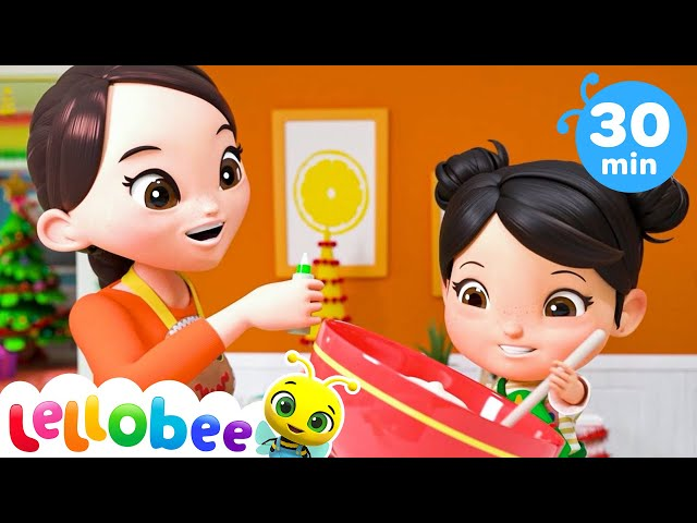 Christmas Cooking Song - Christmas Songs for Kids | Nursery Rhymes | ABCs and 123s | Little Baby Bum