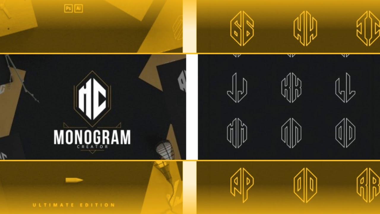 Monogram Maker 8 Amazing Options To Create Monogram Logo Designs With Monogram Maker Online Master Bundles